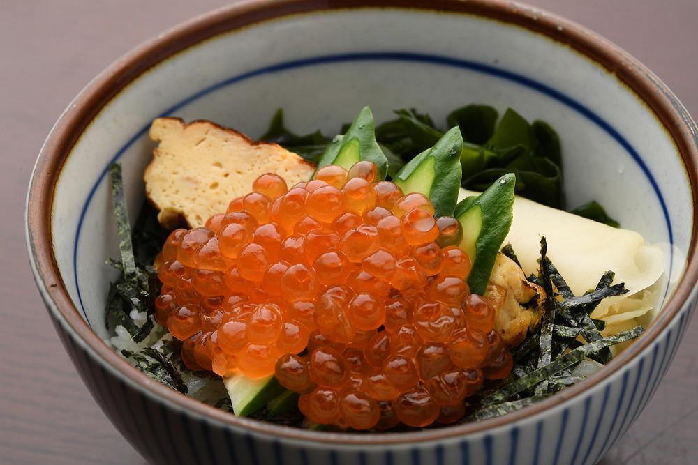 salmon & salmon roe(half)